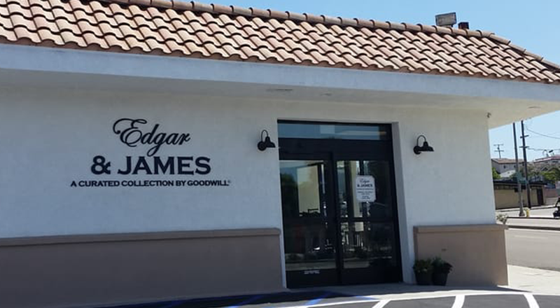Edgar & James – A Curated Collection By Goodwill